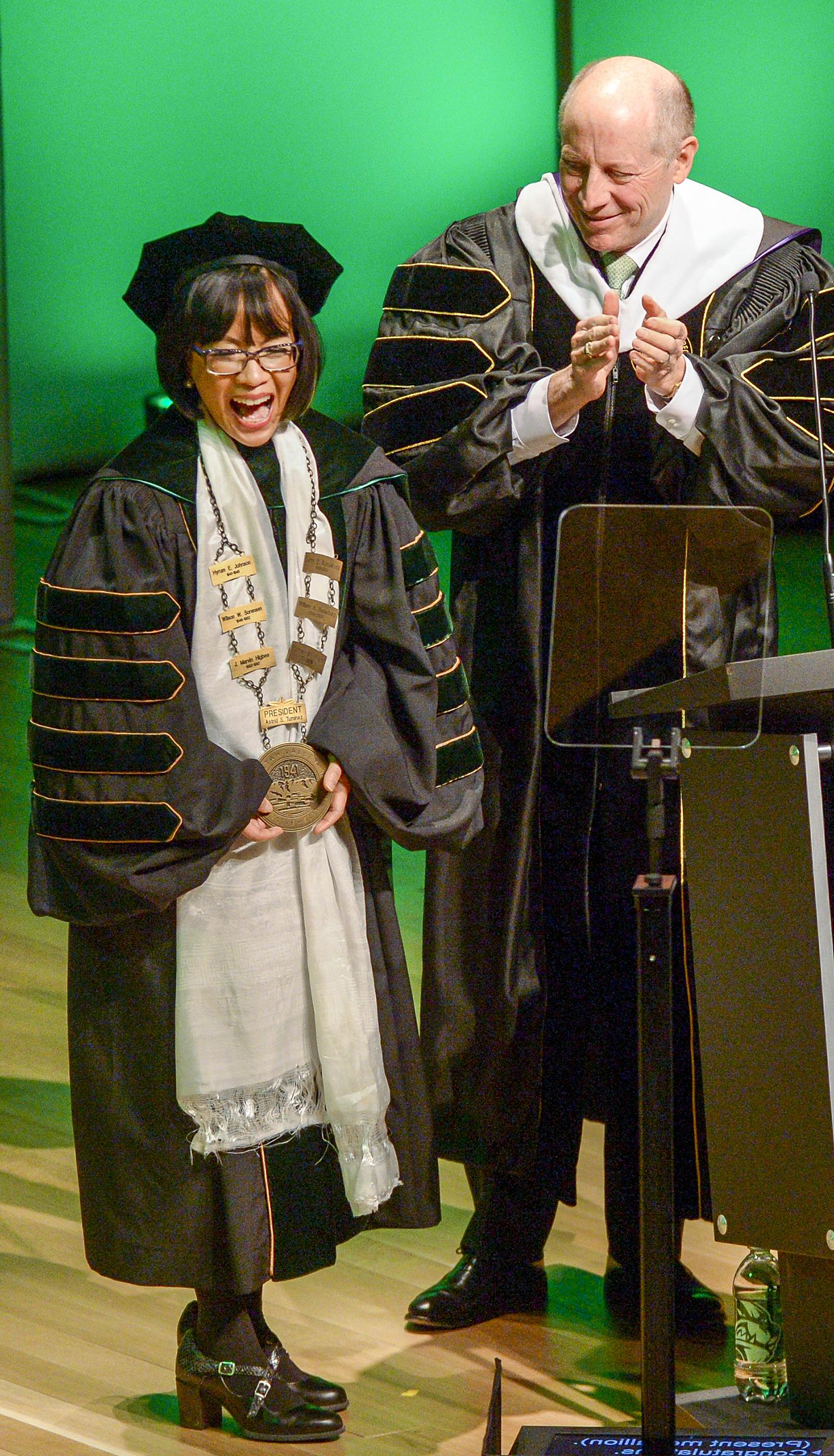 Utah Valley University inaugurates its first female president