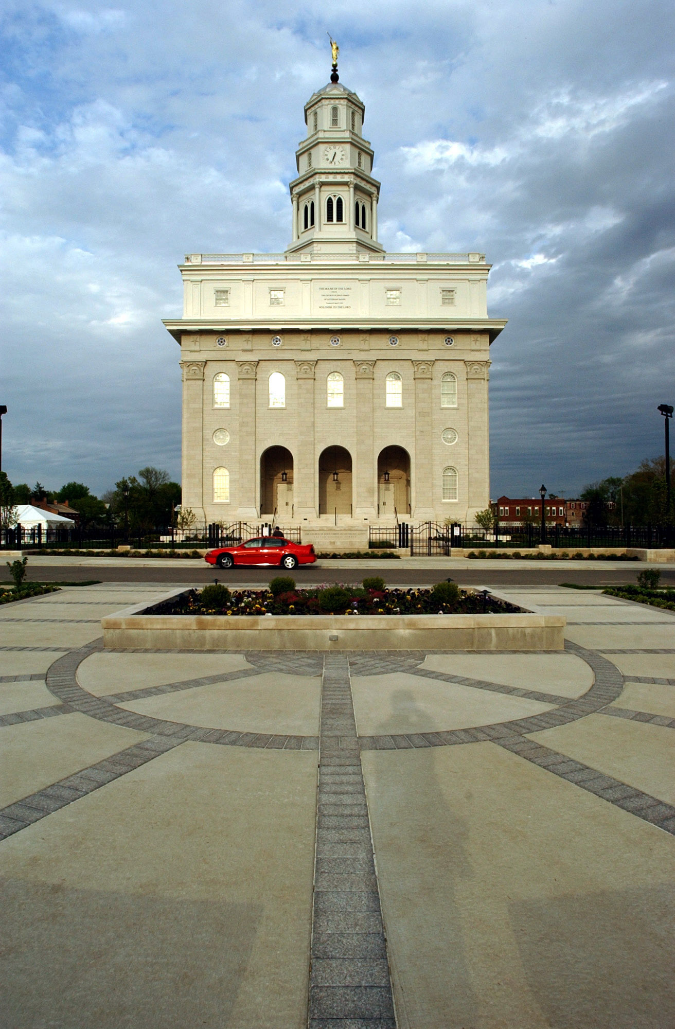 (Rick Egan  |  The Salt Lake Tribune)  The Nauvoo Temple in Illinois.