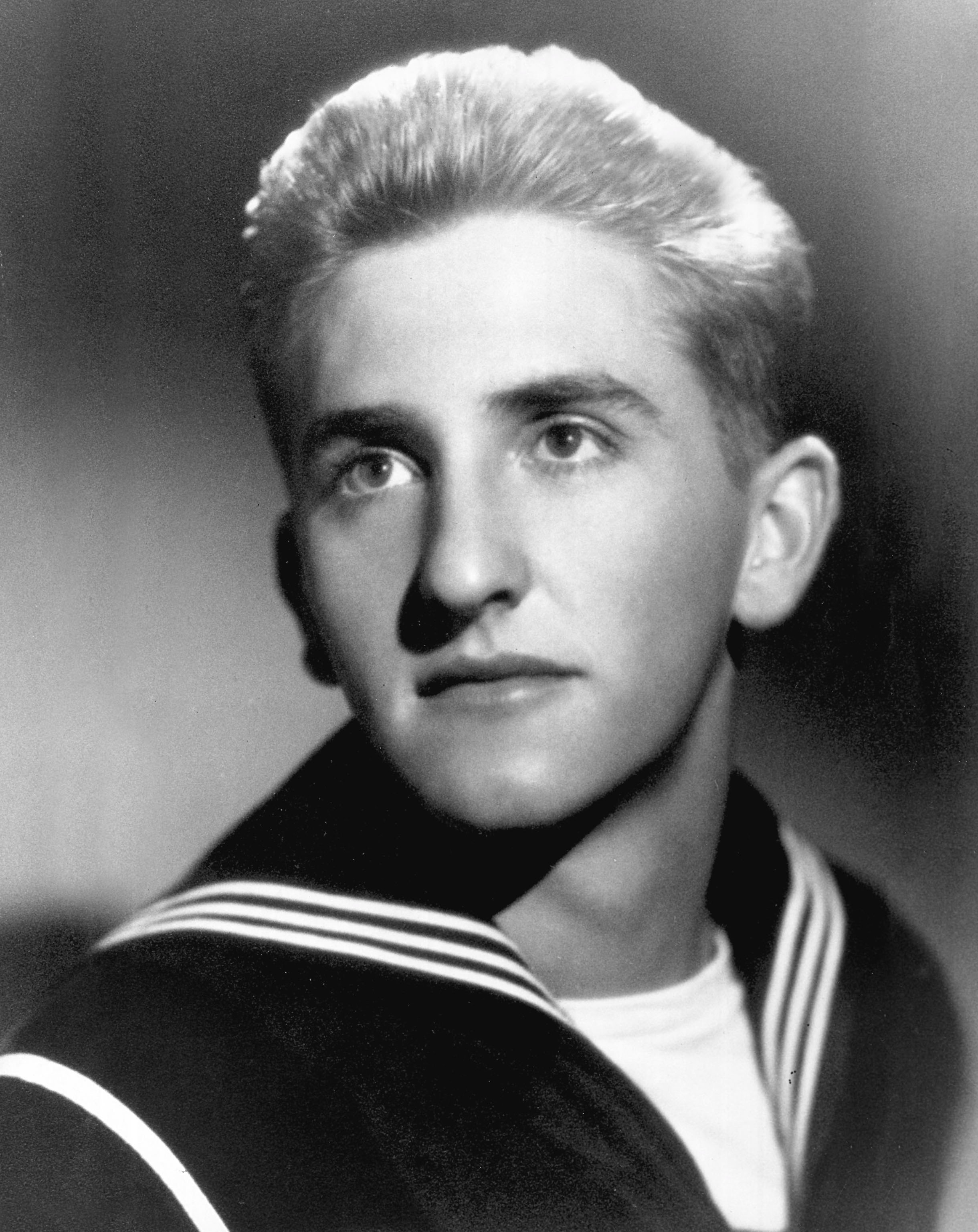 (Photo courtesy LDS Church) Thomas S. Monson served in the Naval Reserve near the close of World War II.