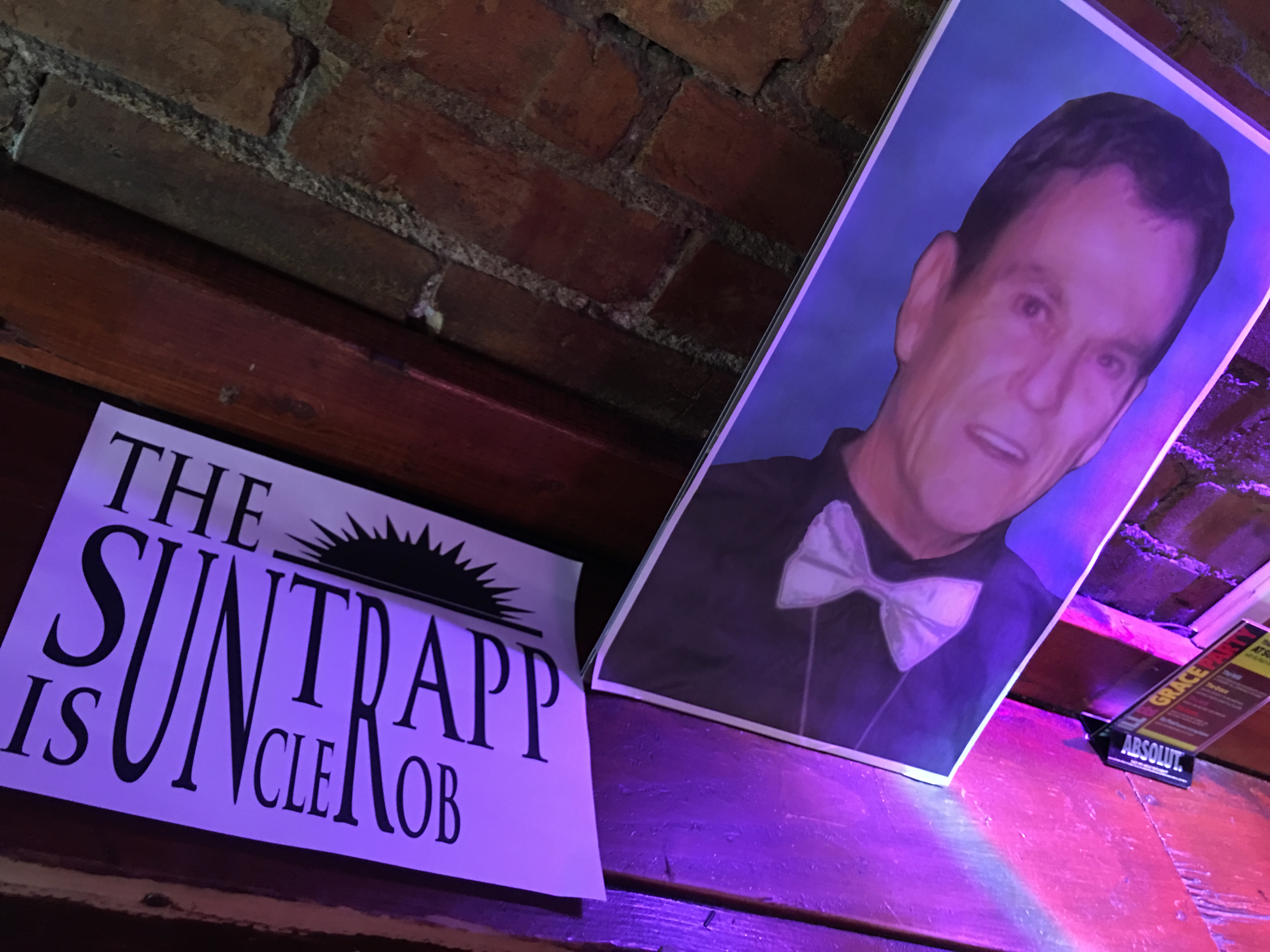 Memorial for Sun Trapp owner Rob Goulding, who died April 9.