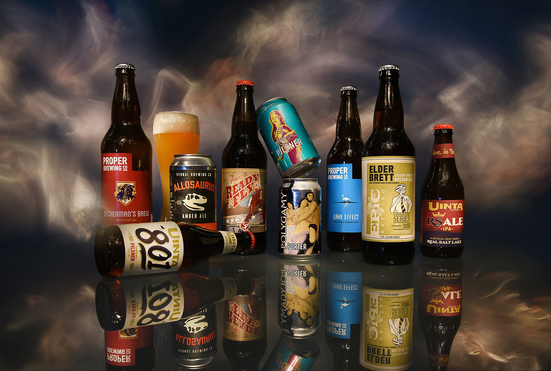 (Francisco Kjolseth  |  The Salt Lake Tribune)  Utah's best beer names.