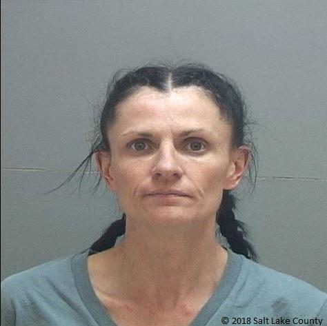 (Photo courtesy of the Salt Lake County jail)  Keria Jessica Hartley-Johnson