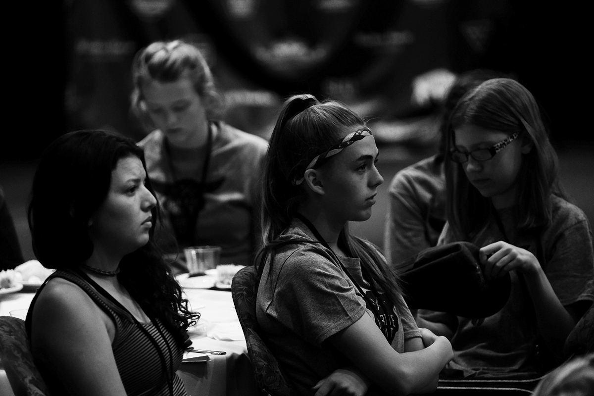 She pulls out books during social gatherings. When other teens did it at this Utah writing camp, she realized, 'My gosh, there's more of us.'