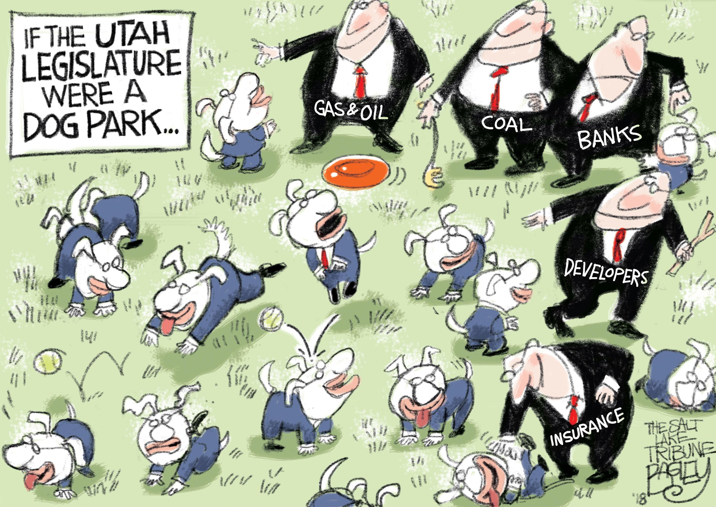 Bagley cartoon: Who's a good legislature?