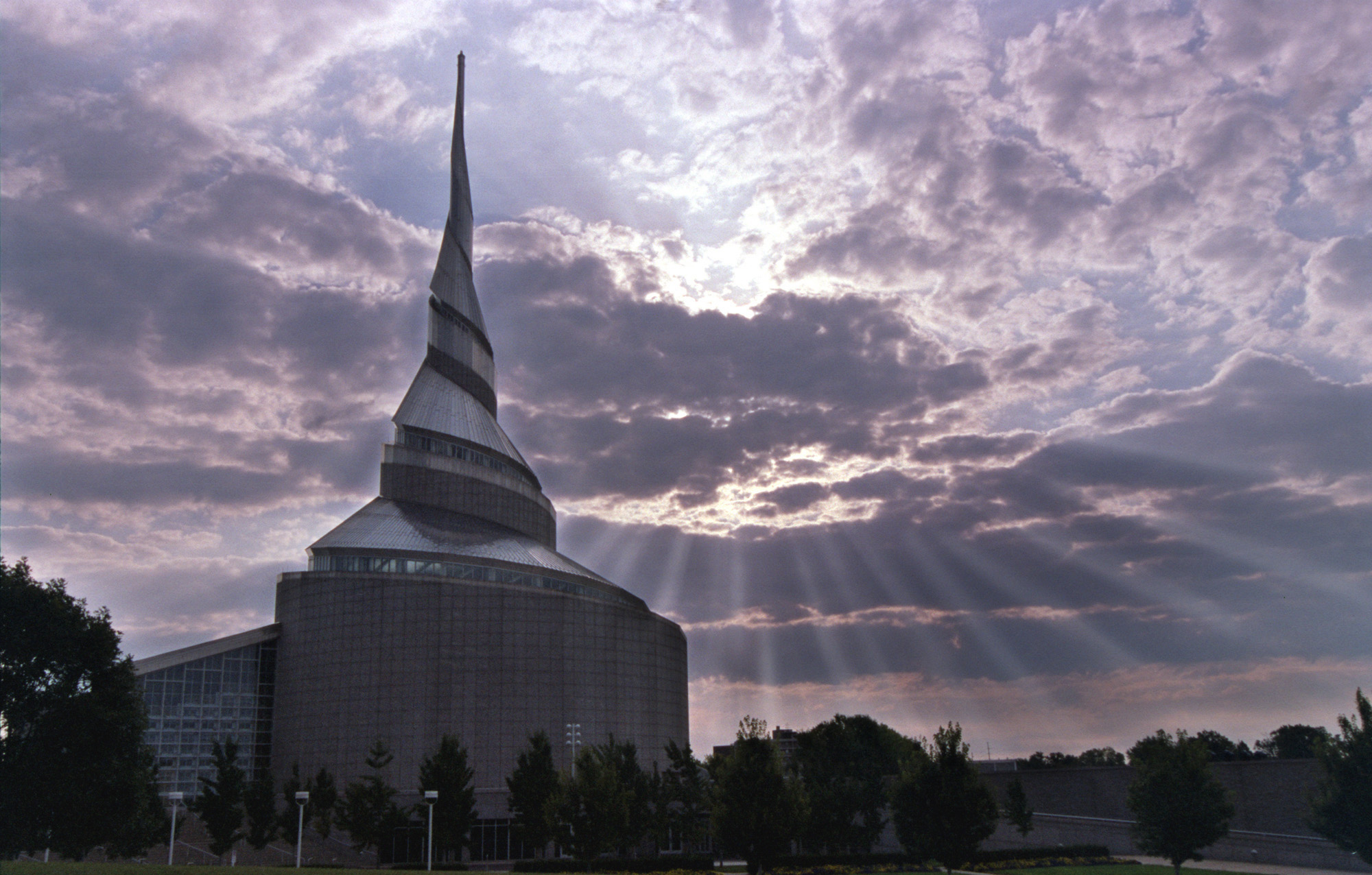 (Tribune file photo)  The Community of Christ Temple, Independence, Mo.
