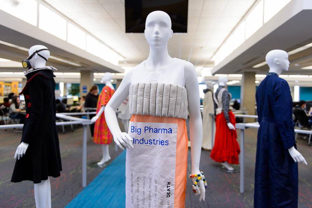 Could this little white dress solve Utah's prescription drug problem? Exhibit shows how protest fashion can help drive social change