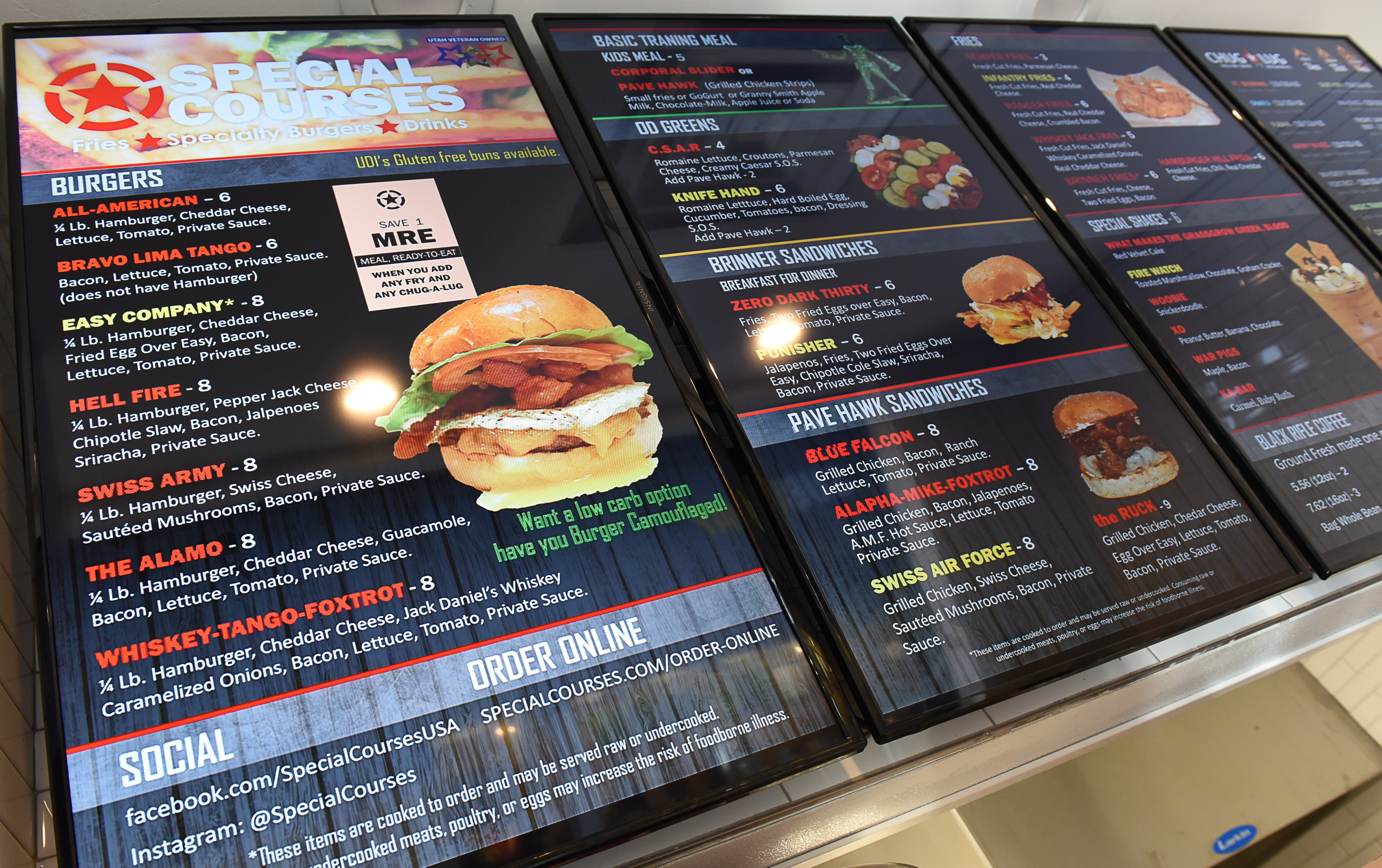 New places to eat in Utah a military veteran s burger joint in