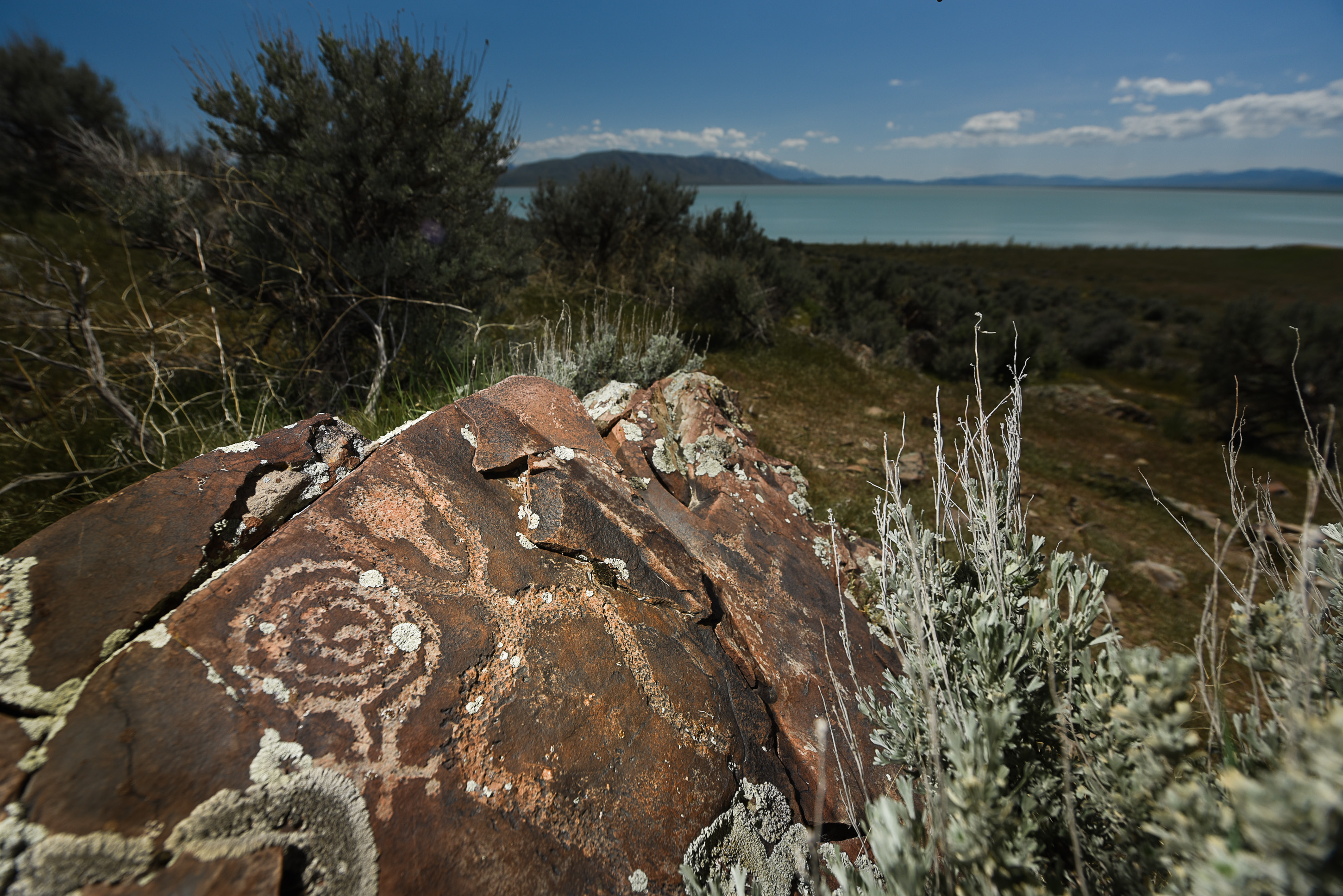 Students work to document rock art at a preserve near Utah Lake to help it win national recognition even as new threats emerge