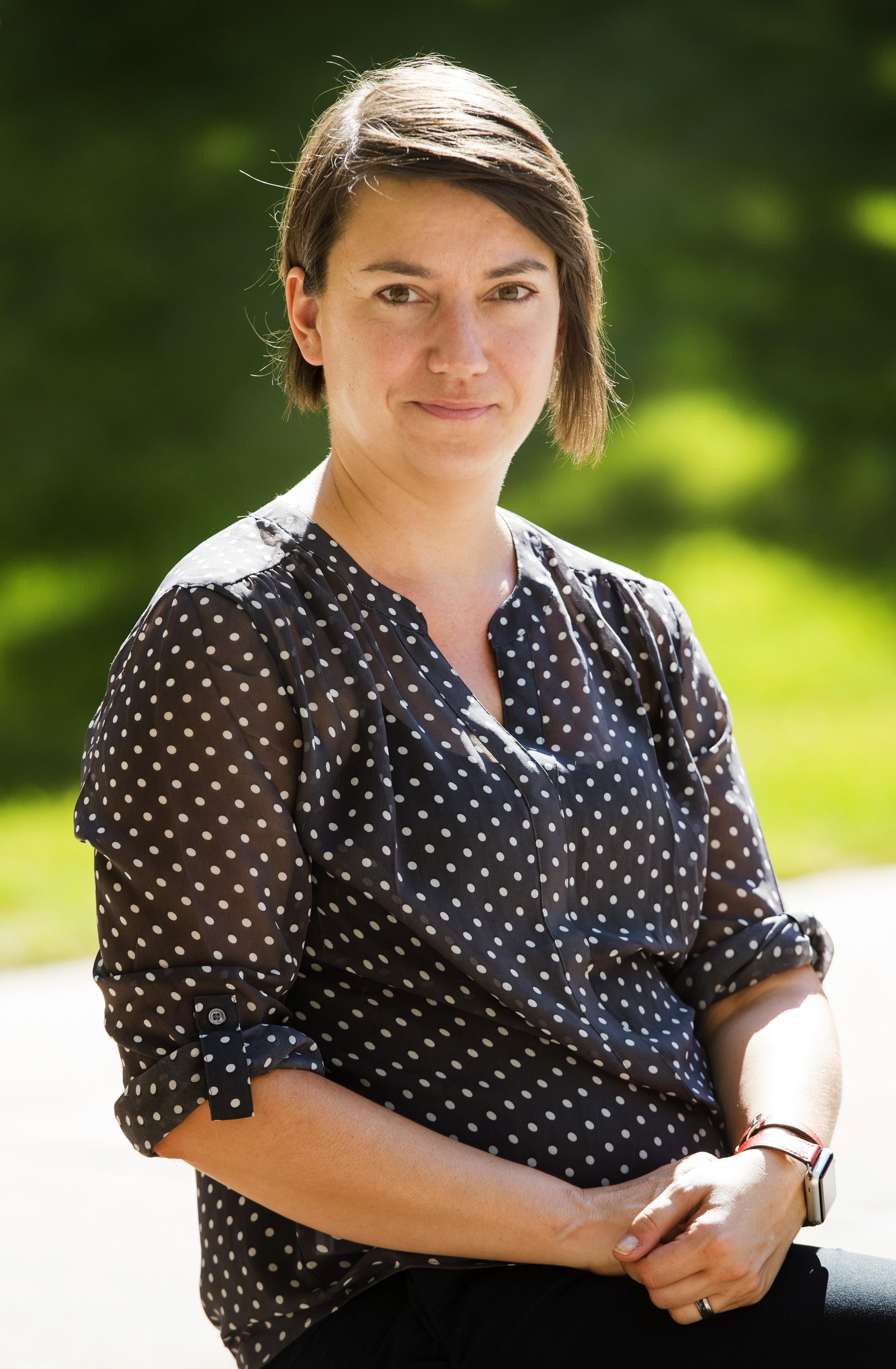 (Rick Egan     The Salt Lake Tribune)   Claudia Geist, an assistant professor of gender studies in the University of Utah's sociology department. Thursday, August 10, 2017.