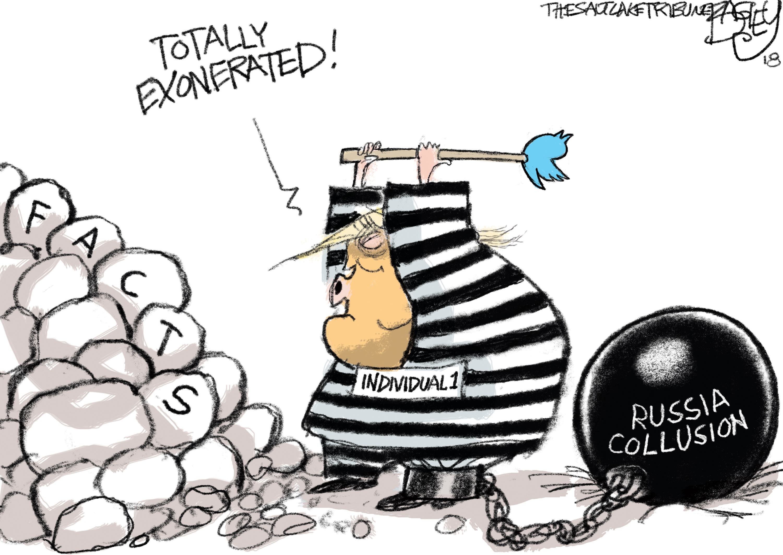 Bagley Cartoon: Mueller's Hard Facts