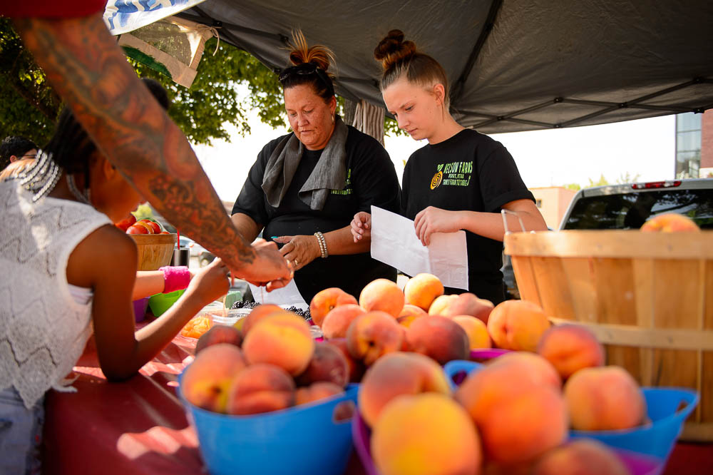 No crowds, cool vibe and 3 other reasons to love Salt Lake City's Tuesday Farmers Market at Pioneer Park