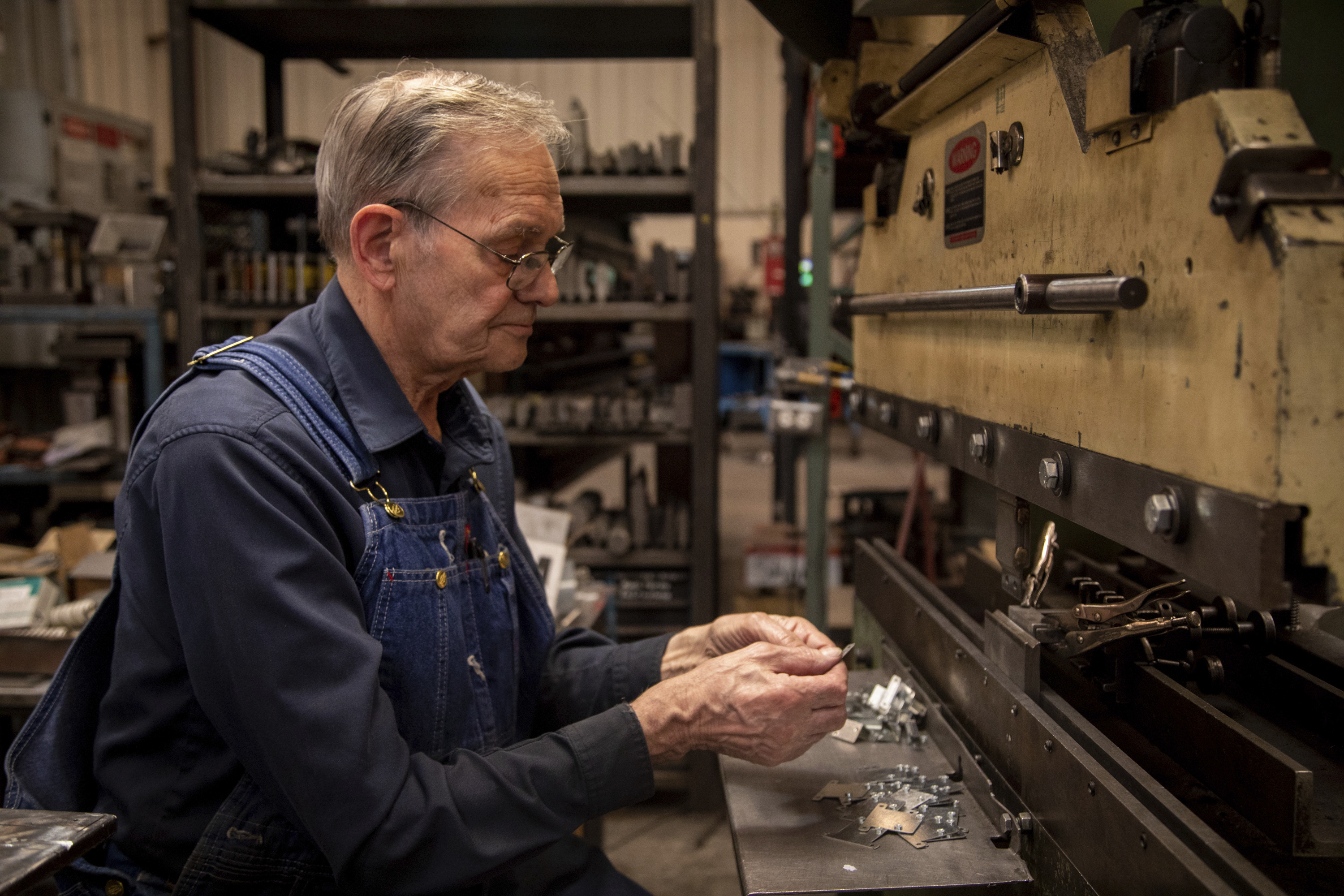 For 60 Years This Utah Man Has Worked Four 10 Hour Days On His Feet Operating Presses Lasers And Other Machinery His Boss Says We D Be Lost Without Him