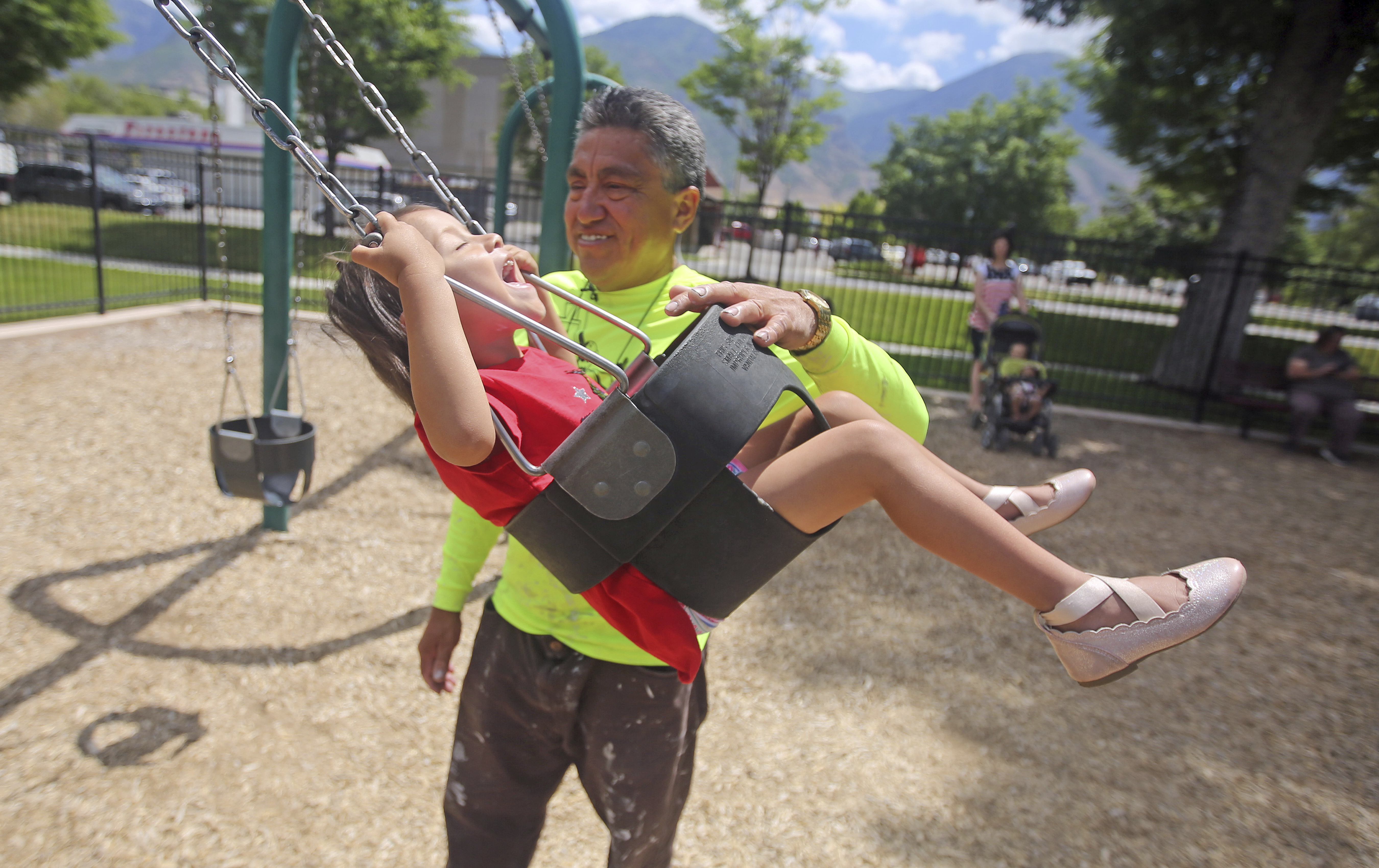 'It's a situation I don't wish upon any father or human being': Provo man remembers being separated from his daughter at the border