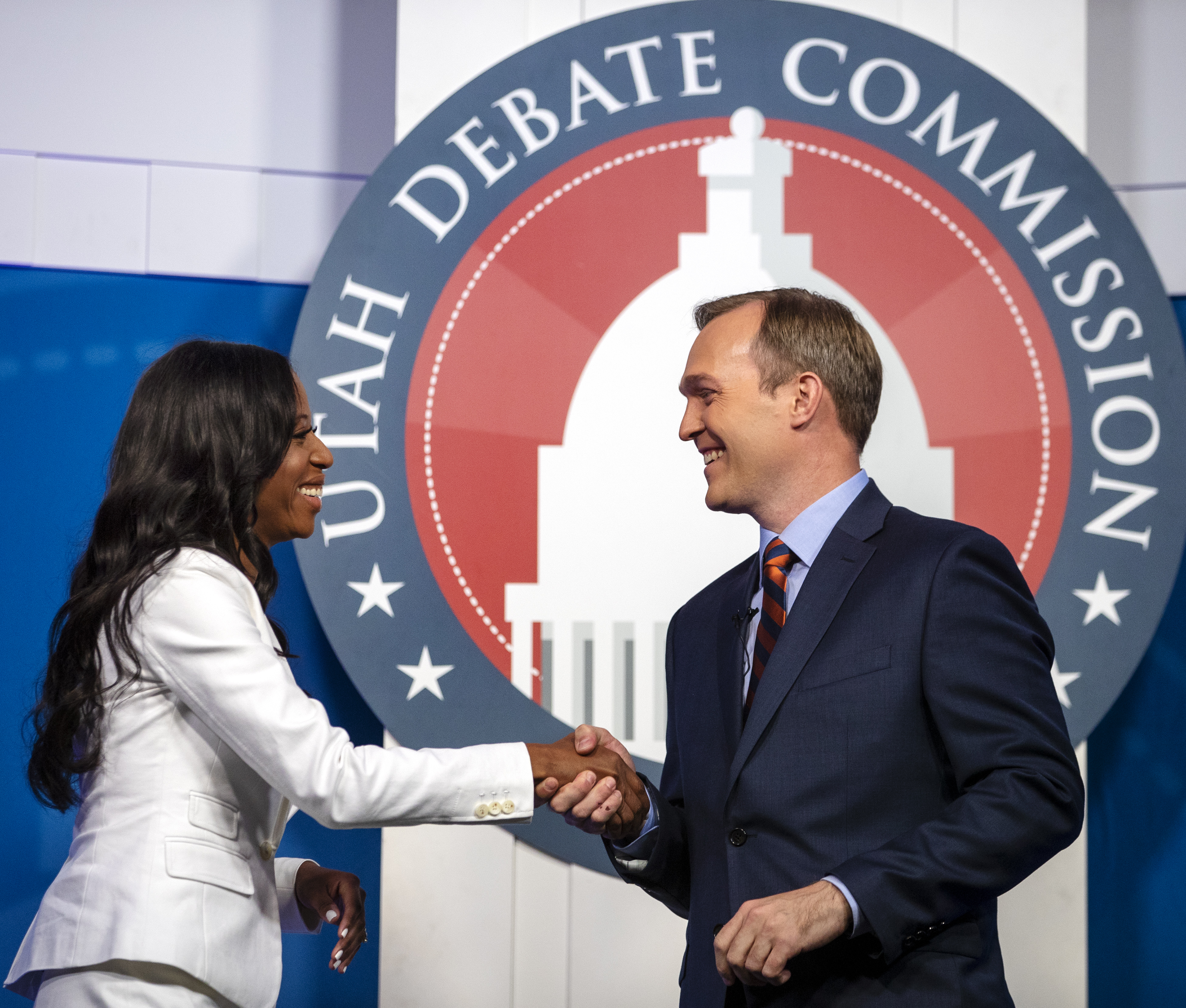 Mia Love calls for 'unethical' Ben McAdams to withdraw from race after FEC belatedly backs her fundraising